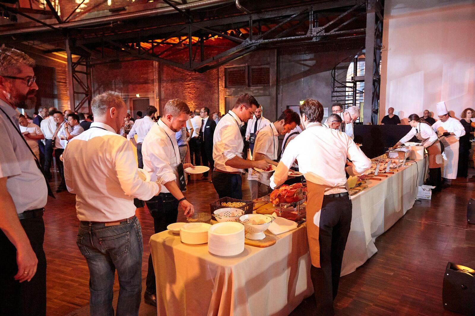 Zanardelli Catering evento Gifa